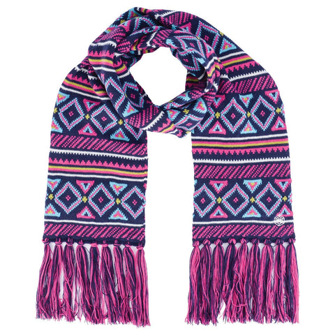 Women's Regent Patterned Knitted Scarf