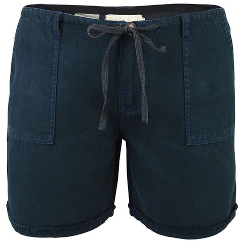 Women's Poipu Shorts Black-Bob Gnarly Surf
