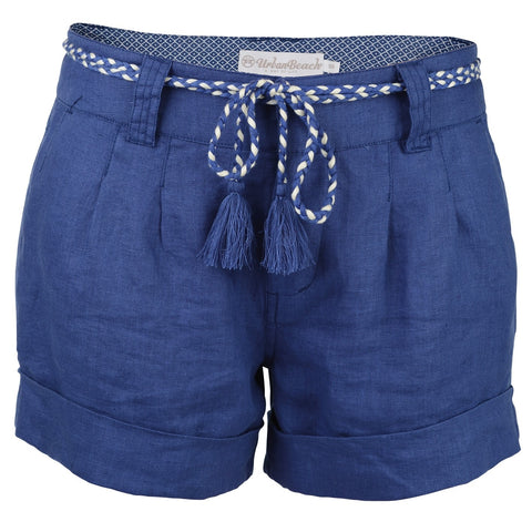 Women's Halaula Shorts Navy-Bob Gnarly Surf