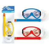 Adult Mask & Snorkel Set Pool Sea Beach Holiday Assorted Colours-Bob Gnarly Surf