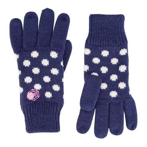 Audrey Dotty Knitted Gloves-Bob Gnarly Surf