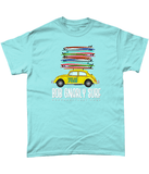 Beetle Fully Stacked Unisex Classic T-Shirt-Bob Gnarly Surf