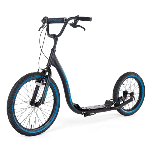 BMX Scooter Hybrid Black-Bob Gnarly Surf