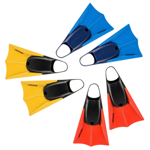OSX Bodyboard Swim Fins-Bob Gnarly Surf