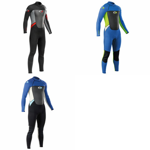 Boys 3mm Full Length Wetsuit-Bob Gnarly Surf