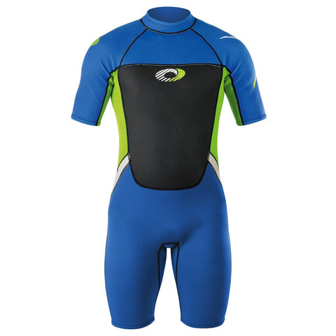 Boys 3mm Shorty Wetsuit-Bob Gnarly Surf