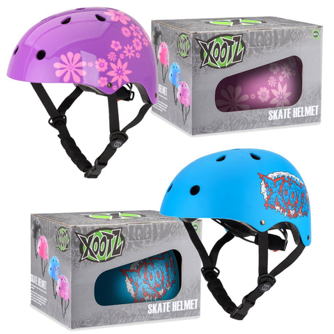 Boys & Girls Adjustable Skate Helmets 45-53cm-Bob Gnarly Surf