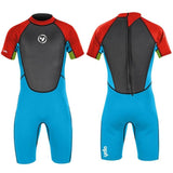 Boy's Mako Shorty Wetsuit-Bob Gnarly Surf