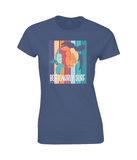 Ladies Fitted 'Tortuga' T-Shirt-Bob Gnarly Surf