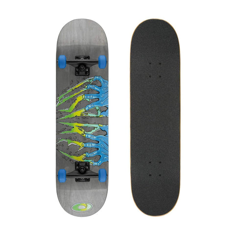 "Claws 31"" Double Kick Skateboard-Bob Gnarly Surf"