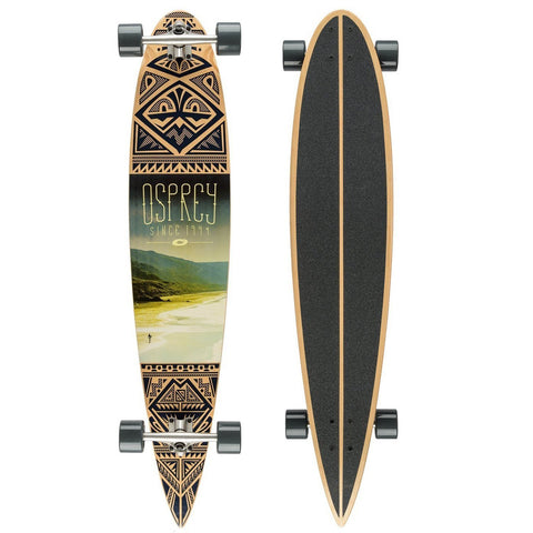"Coastline 46"" Complete Pintail Longboard-Bob Gnarly Surf"