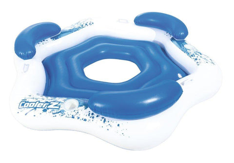 CoolerZ Inflatable Floating Island-Bob Gnarly Surf