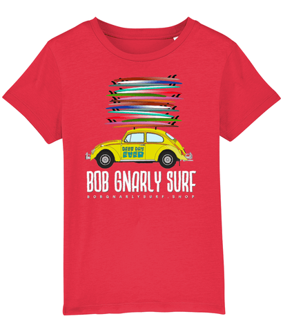 Grom Fully Stacked Beetle Bug T-Shirt-Bob Gnarly Surf