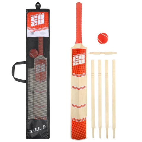 Deluxe Size 5 Cricket Set - Bob Gnarly Surf