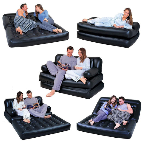 Double 5-In-1 Inflatable Couch-Bob Gnarly Surf