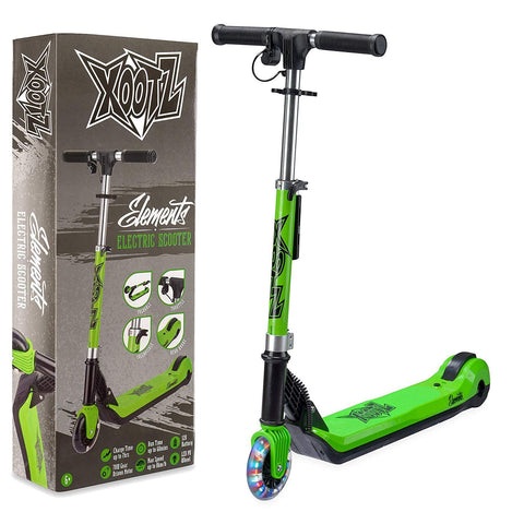 Elements Electric Scooter Green-Bob Gnarly Surf