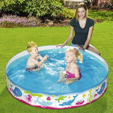 "Fill N Fun Paddling Pool 60"" x 10""-Bob Gnarly Surf"