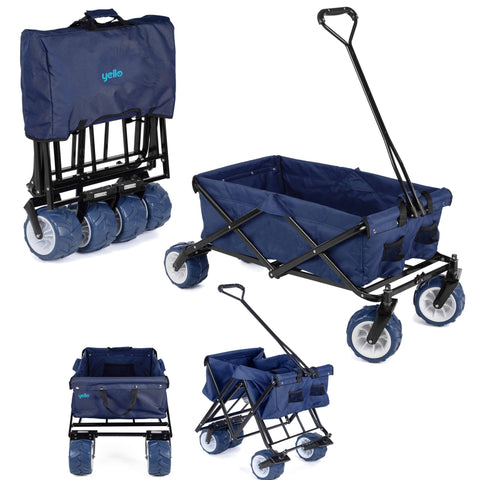 Foldable Trolley Hand Cart-Bob Gnarly Surf
