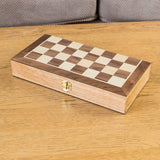 Foldable Wooden Chess Travel Set-Bob Gnarly Surf
