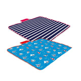 Folding Blanket Camping Outdoor Beach Festival Waterproof Picnic Rug Mat-Bob Gnarly Surf