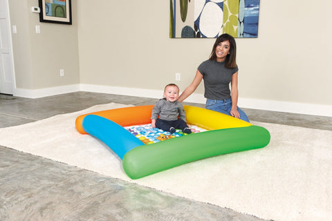 Friendly Animals Play Mat-Bob Gnarly Surf