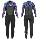 Girls Tiger Full Length Wetsuit-Bob Gnarly Surf