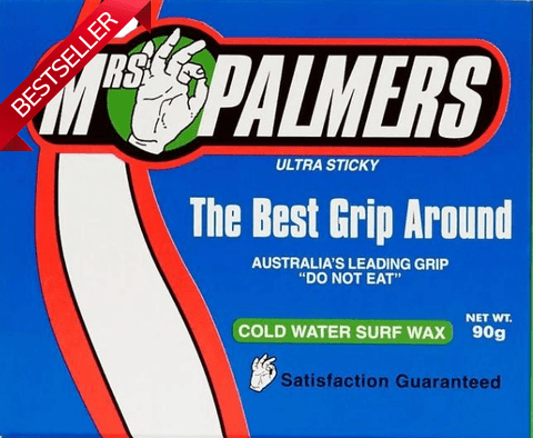 Mrs Palmers Cold Water Surf Wax-Bob Gnarly Surf