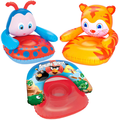 Kids Inflatable Fun Chairs-Bob Gnarly Surf