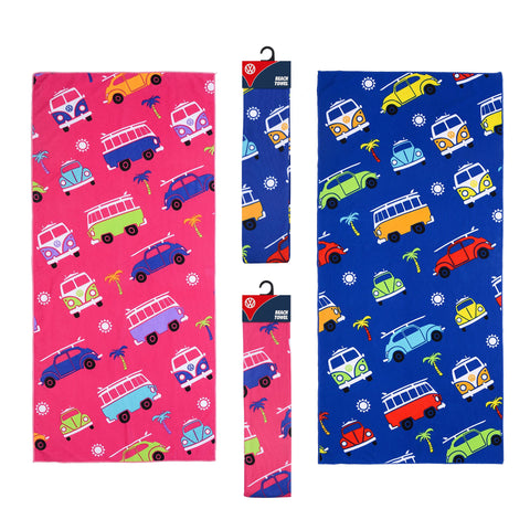 Kids Officially Licensed VW Towels-Bob Gnarly Surf