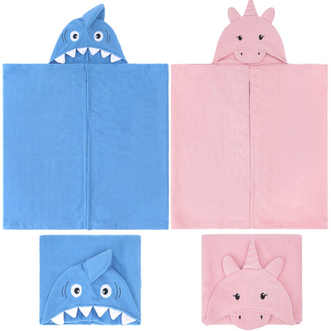 Kids Hooded Towel Robe-Bob Gnarly Surf