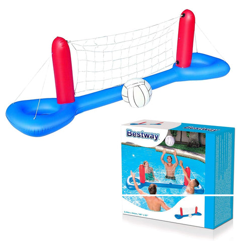 Inflatable Pool Volleyball Net & Ball-Bob Gnarly Surf