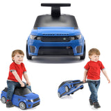 Range Rover Kids Ride On Suitcase Blue