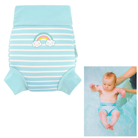 Unisex Baby Neoprene Swim Nappy-Bob Gnarly Surf