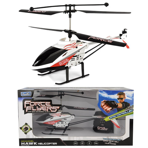 Motion Control Hawk Helicopter Drone
