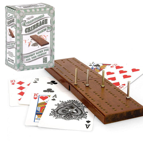 Traditional Cribbage Game-Bob Gnarly Surf