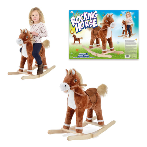 Rocking Horse with Sound-Bob Gnarly Surf