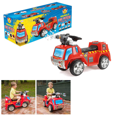Kids Electric Ride on Fire Engine-Bob Gnarly Surf
