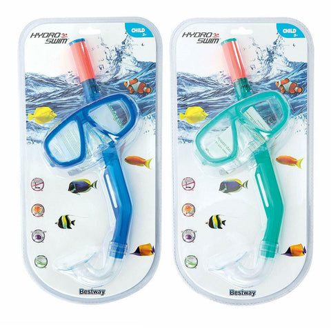 Hydro Swim Junior Fun Snorkel and Mask Set-Bob Gnarly Surf