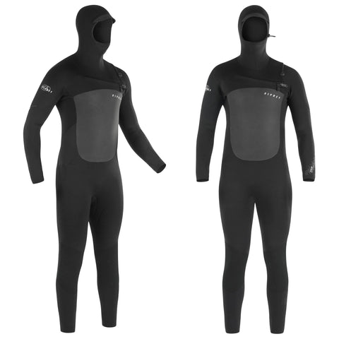 Zero 5mm Hooded Wetsuit-Bob Gnarly Surf