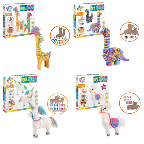 Yarn Animal Craft Kits for Kids