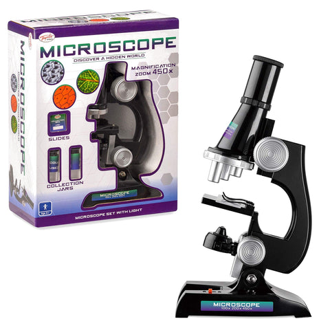 Kids Microscope Set with Light-Bob Gnarly Surf