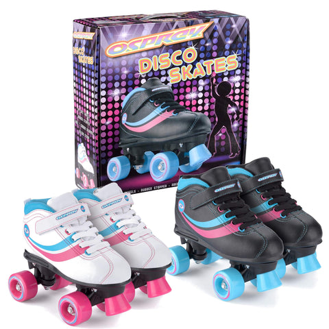 Kids Disco Quad Roller Skates