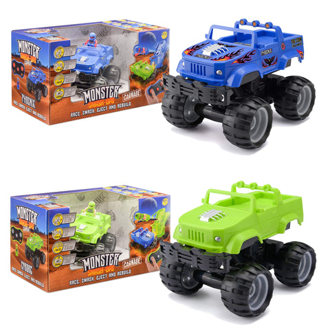 Monster Smash Ups Carnage RC Mini Monster Truck