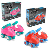 Kids Beginner Trainer Roller Quad Skates