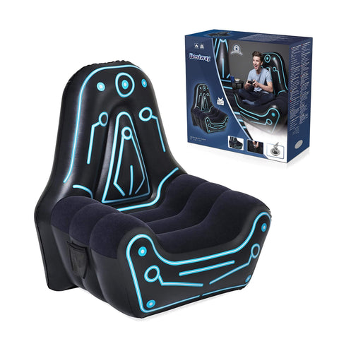 Inflatable Mainframe Gaming Chair Adults Kids - Bob Gnarly Surf