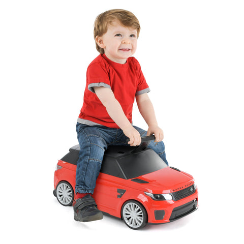 Range Rover Kids Ride On Suitcase Red