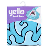 Shaped Beach Towels-Bob Gnarly Surf