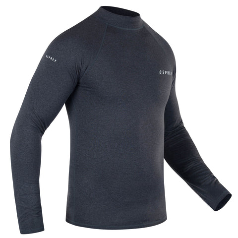 Men's Zane Thermal Long Sleeve Rash Vest-Bob Gnarly Surf