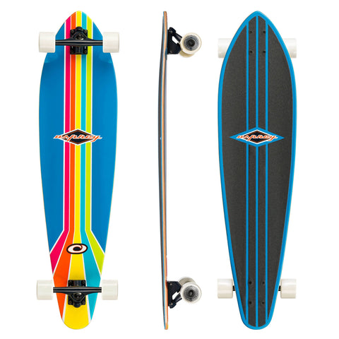 "Retro Pintail 'Seventy Two' 40"" Longboard"