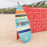 "VW 41"" Skimboard Blue-Bob Gnarly Surf"